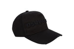 Dsquared2 Signature Embroidered Logo Baseball Cap Black