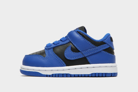 Nike Dunk Low Baby Shoes White Blue Black