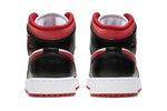 Nike Air Jordan 1 Mid Gym Red Black White (PS)
