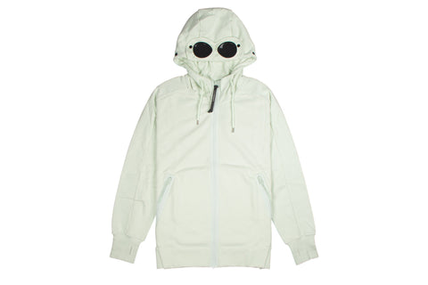 CP Company Full Zip Google Hoodie Mint Green