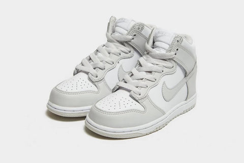 Nike Dunk Retro White Vast Grey Children