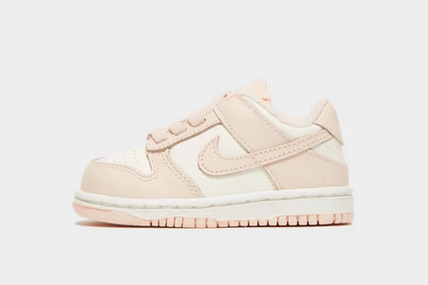 Nike Dunk Low Sail Orange Pearl Baby Shoes