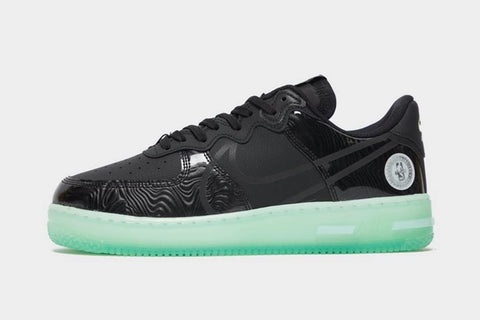 Nike Air Force 1 React LV8 Black Barely Green