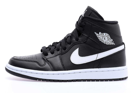 Nike Air Jordan 1 Mids WMNS Black White