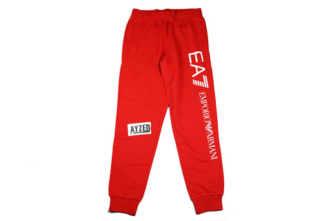 Emporio Armani EA7 Red Track Pants