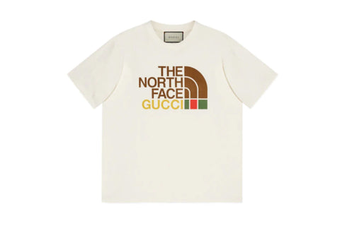 Gucci x The North Face Oversize T-Shirt Beige
