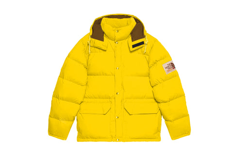 Gucci x The North Face Nylon Jacket Yellow