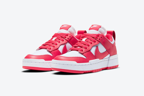 Nike Dunk Low Disrupt Women Siren Red White