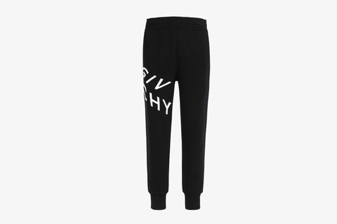 Givenchy Refracted Embroidered Logo Jogging Pants