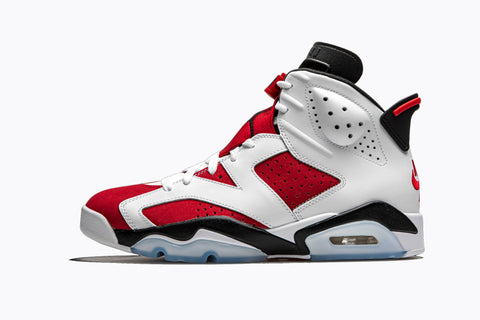 Nike Air Jordan 6 Retro Carmine White Red Black