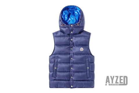 Moncler Billecart Padded Blue Gilet