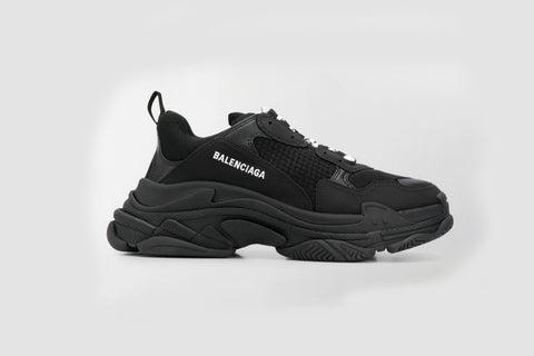 Balenciaga Triple S Black Sneakers