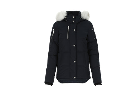 Moose Knuckles Rathnelly Down Jacket Midnight Blue Women