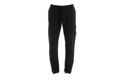 Stone Island Garment Dyed Black Sweat Pants
