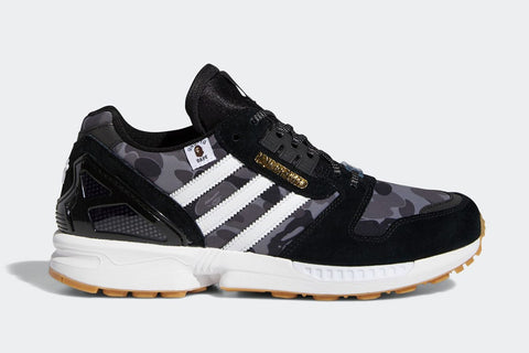 Adidas ZX 8000 BAPE Undefeated Black