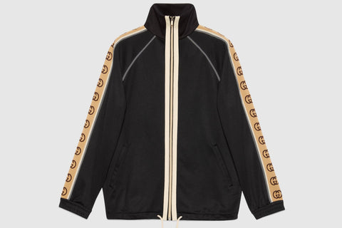 Gucci GG Oversize Technical Jersey Jacket