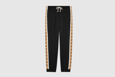 Gucci GG Oversize Technical Track Bottoms