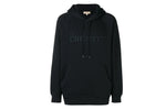 Burberry London England Embroidery Hooded Sweatshirt Black