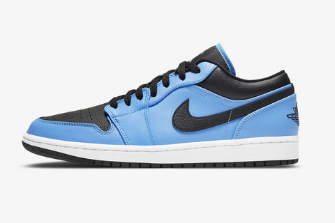 Nike Air Jordan 1 Low University Blue White Black