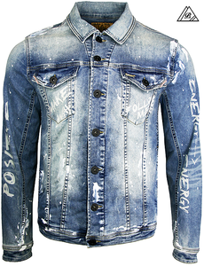 Crypto Denim Jacket
