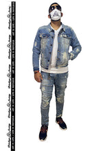 Load image into Gallery viewer, Freeze Denim Jacket