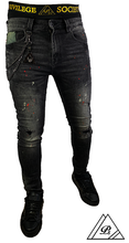 Load image into Gallery viewer, Salt & Pepper - Skinny Jean