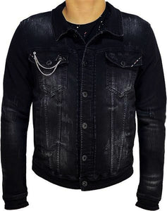 Black Ice Denim Jacket