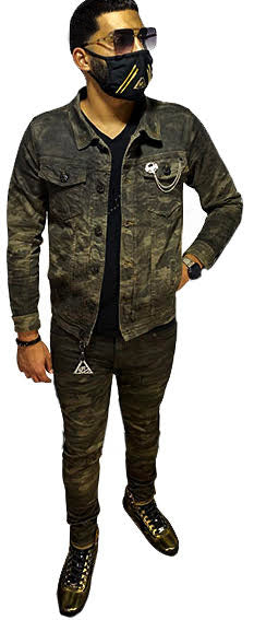 Camo Hunter Denim Jacket