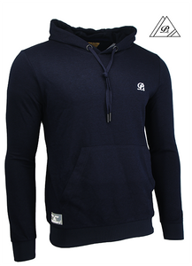 Signature Pullover - Navy/White