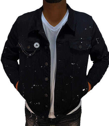 Snow Fall Denim Jacket