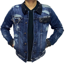 Load image into Gallery viewer, Victory Denim Jacket