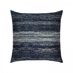 Textured Indigo Pillow