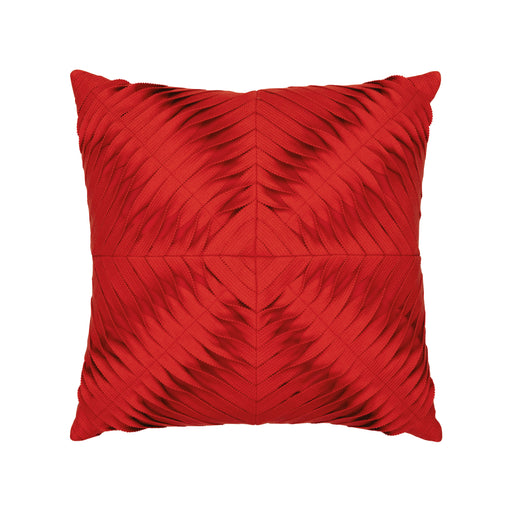 "20"" x 20"" Dimension Scarlet pillow by Elaine Smith 