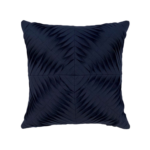 "20"" x 20"" Dimension Navy pillow by Elaine Smith 