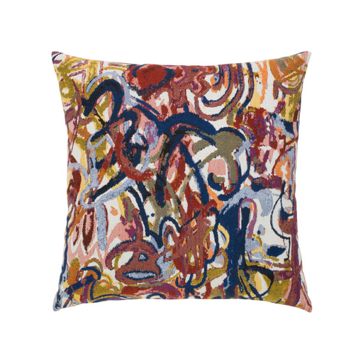 "20"" x 20"" Graffiti pillow by Elaine Smith 
