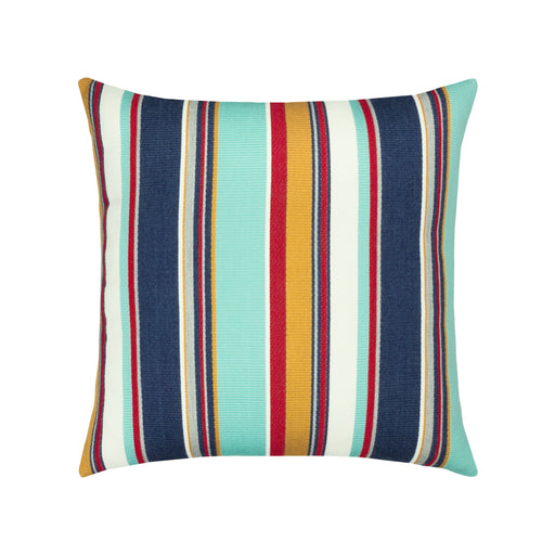 "20"" x 20"" Sicily Stripe pillow by Elaine Smith 