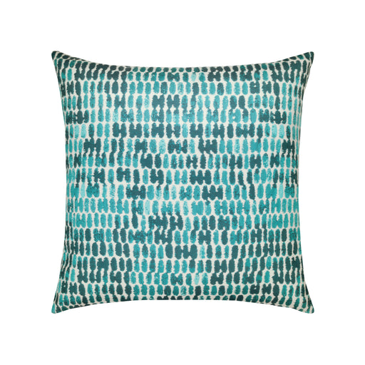 "20"" x 20"" Thumbprint Aruba pillow by Elaine Smith 