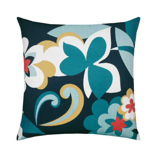 "22"" x 22"" Floral Impact pillow by Elaine Smith 