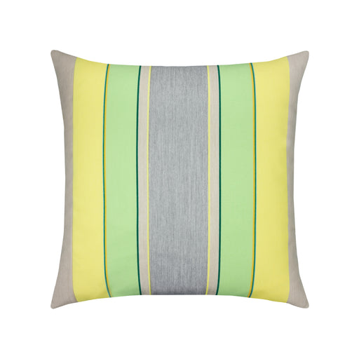 "20"" x 20"" Citrus Stripe pillow by Elaine Smith 