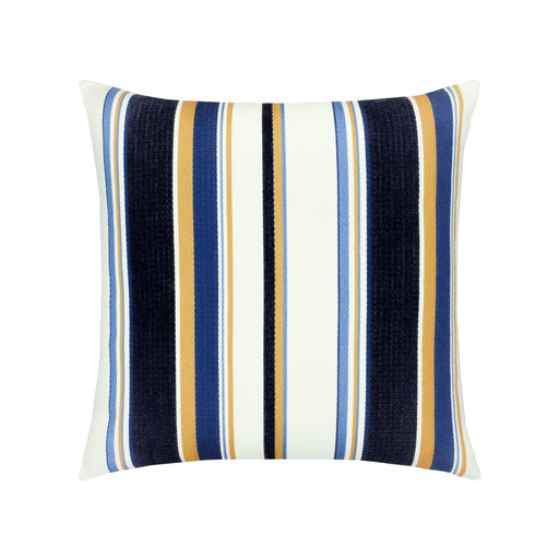 "20"" x 20"" Harbour Stripe pillow by Elaine Smith 