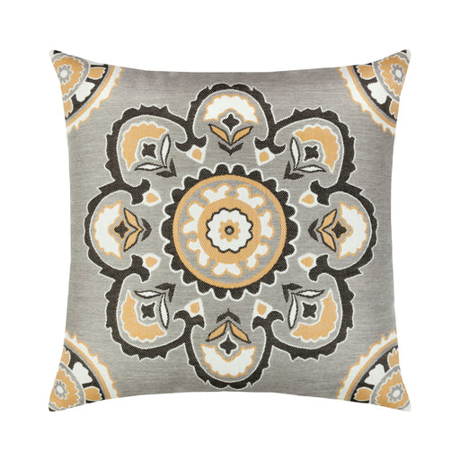 "22"" x 22"" Bukhara Eclipse pillow by Elaine Smith 