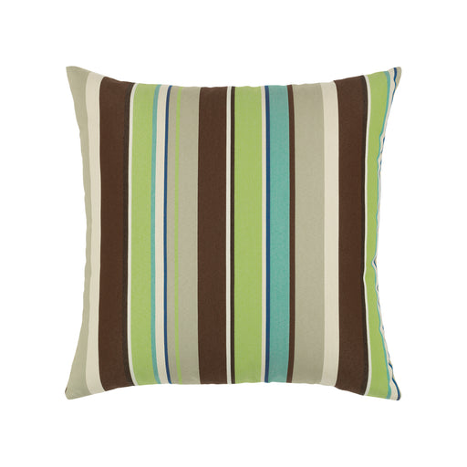 "20"" x 20"" Landscape Stripe pillow by Elaine Smith 