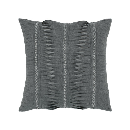 "20"" x 20"" Gladiator Smoke pillow by Elaine Smith 