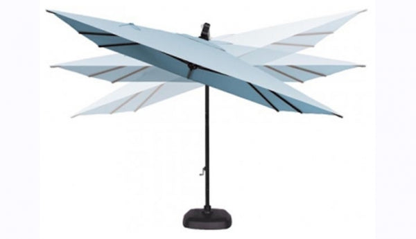 10' Square Cantilevered Umbrella