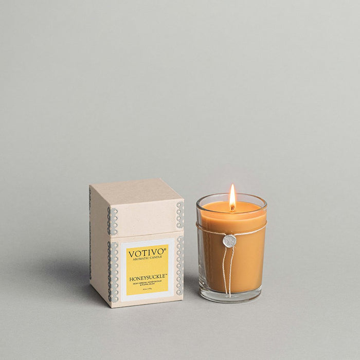 Votivo Aromatic Candle – Honeysuckle