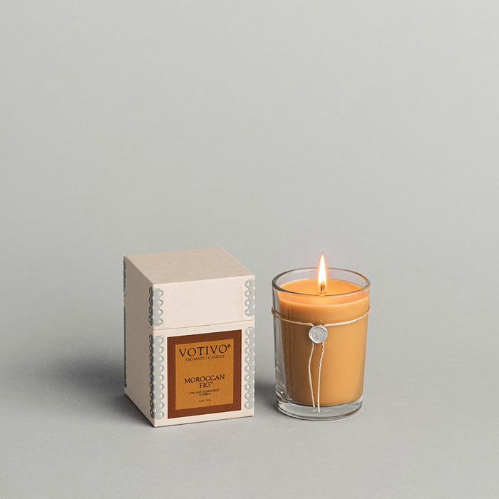 Votivo Aromatic Candle – Moroccan Fig