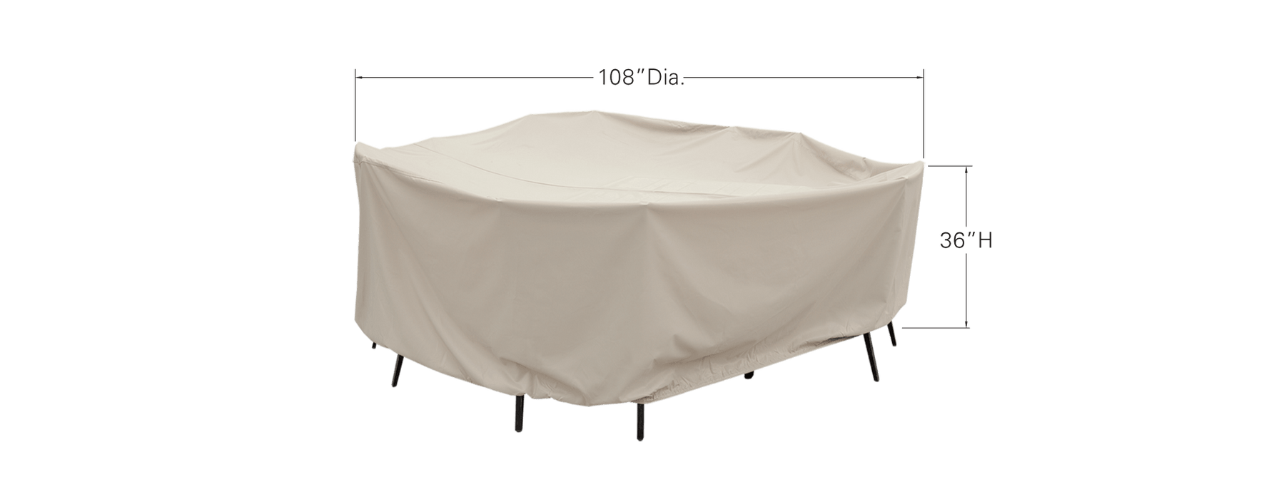 "60"" Round/Square Table and Chair Cover"