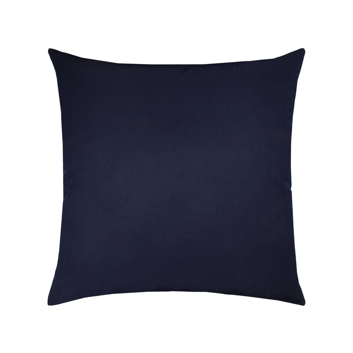 "20"" x 20"" Canvas Navy pillow by Elaine Smith 