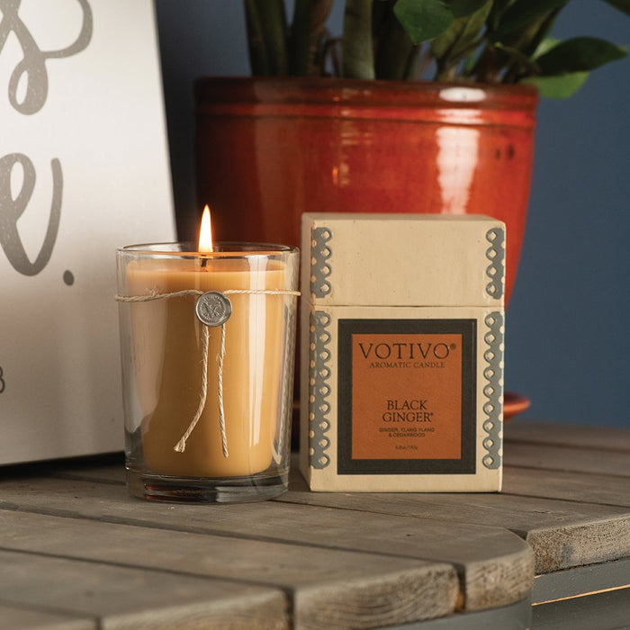 Votivo Aromatic Candle – Black Ginger