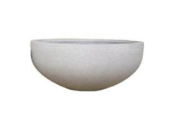 Fiberstone Low Bowl Planter